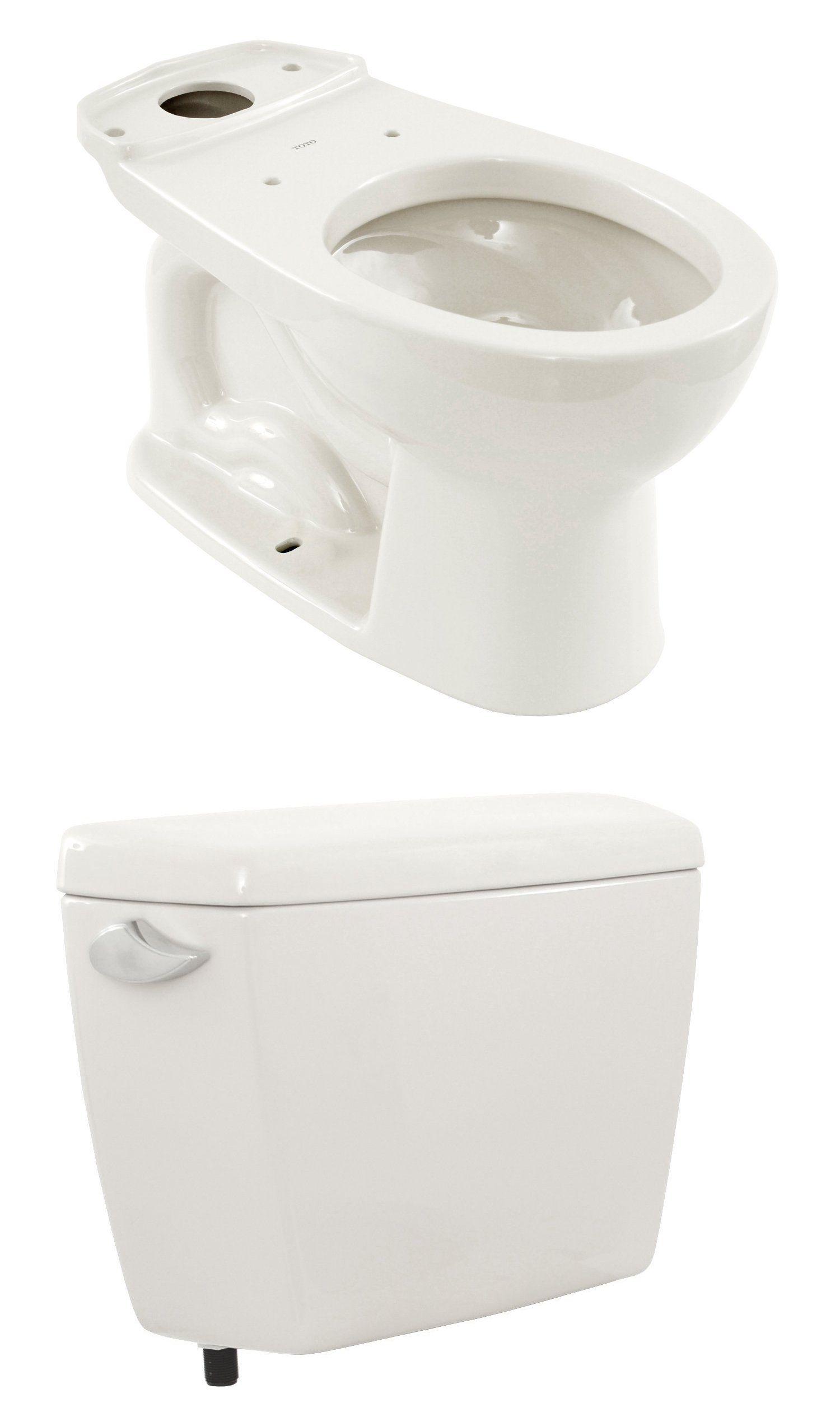 Toilets 71284: Toto Cst743s01 Drake 2-Piece 1.6 Gpf Round Toilet In ...