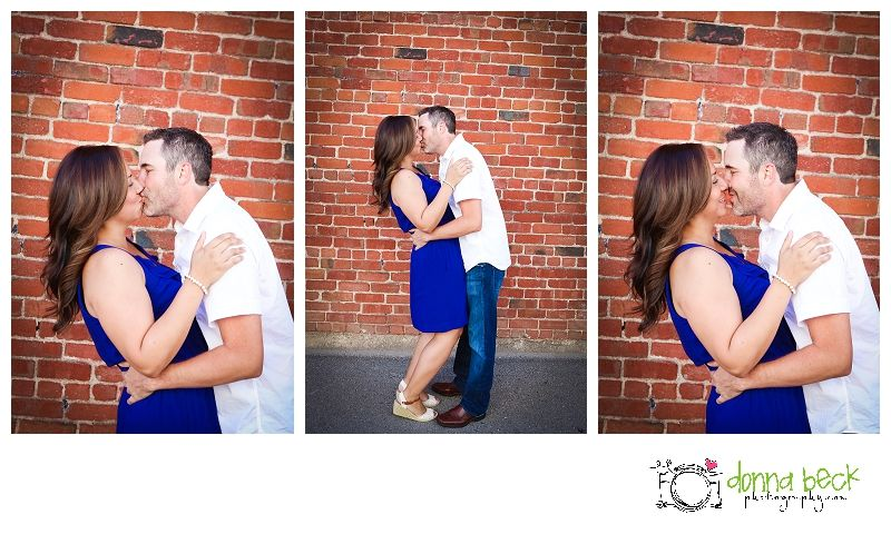 Roseville Engagement Photographer Wedding Donna Beck Photography Brick Urban Session