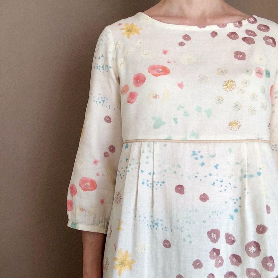 blouse en double gaze nani iro fuccra naniiro nani iro pinterest et. Black Bedroom Furniture Sets. Home Design Ideas