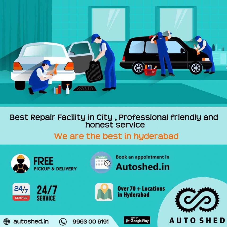 The Multi Brand Car Repairs And Services In Hyderabad Will Check