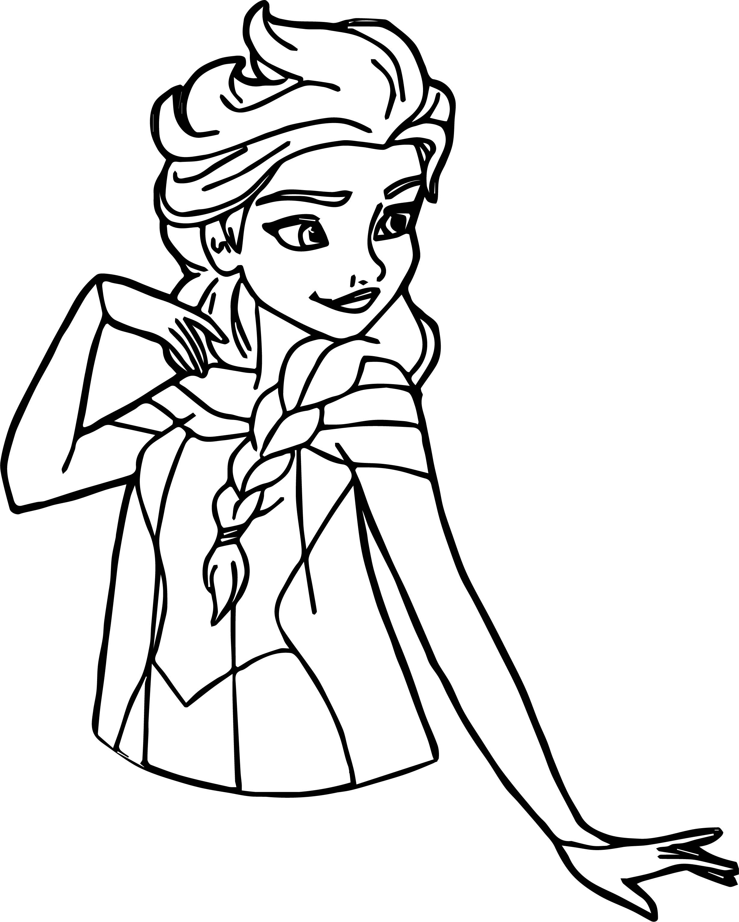 Cool Elsa Pose Coloring Page Elsa Coloring Pages Frozen Coloring Pages Frozen Coloring