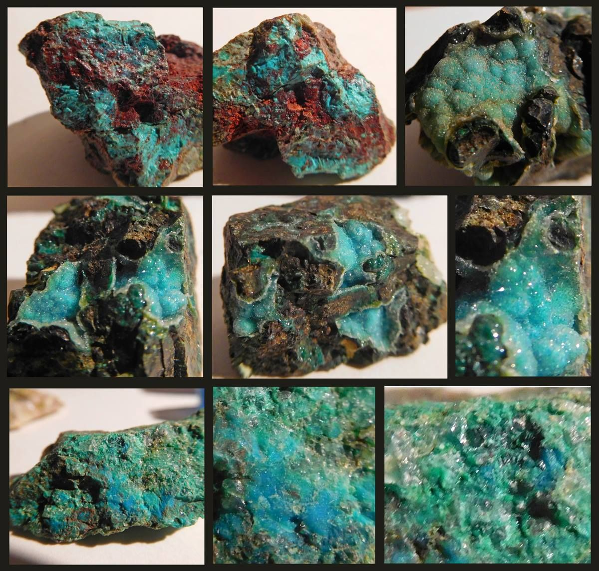 Chrysocolla and Copper
