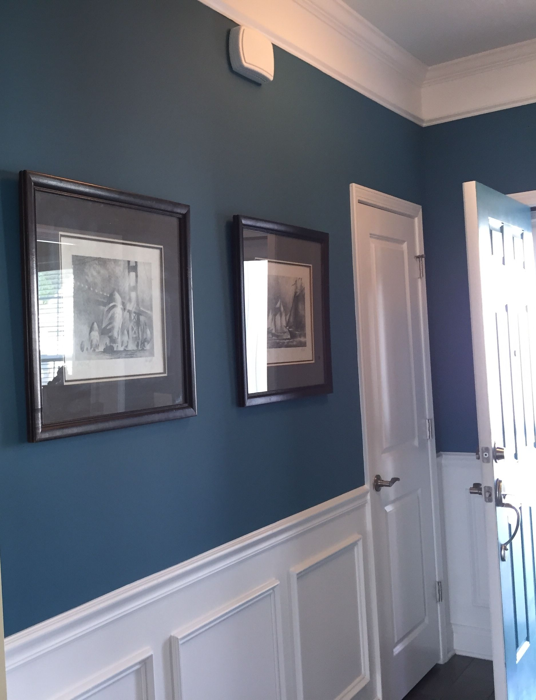 Silken Peacock Sw9059 Sherwin Williams Paint Color Basement Paint Colors Paint Colors For Living Room Turquoise Wall Colors #peacock #colors #living #room