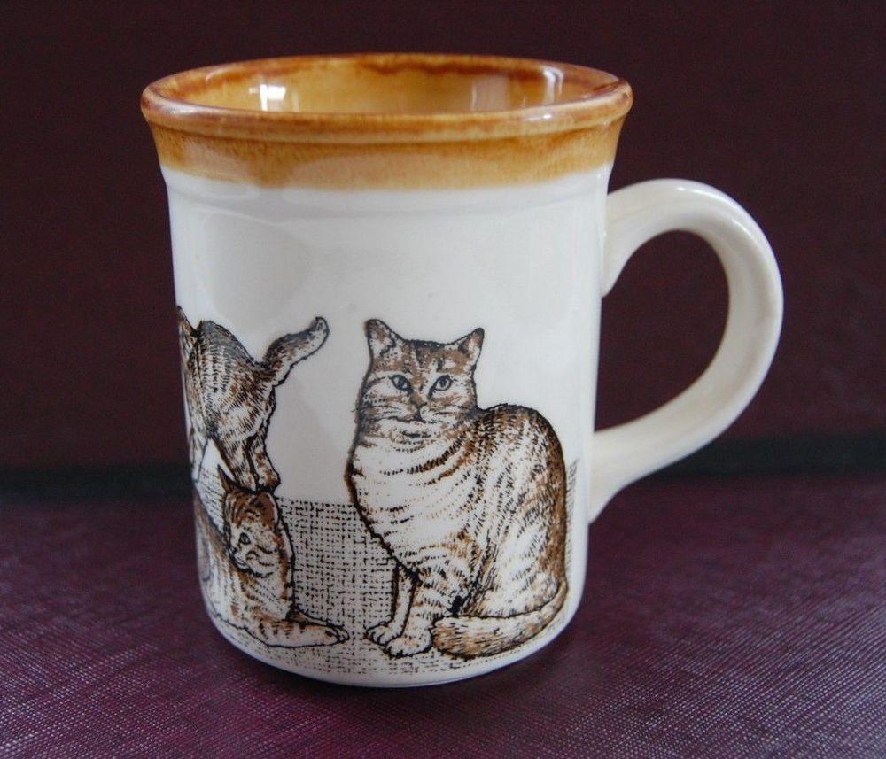 British shorthair coffee mug cup biltons cats cream and