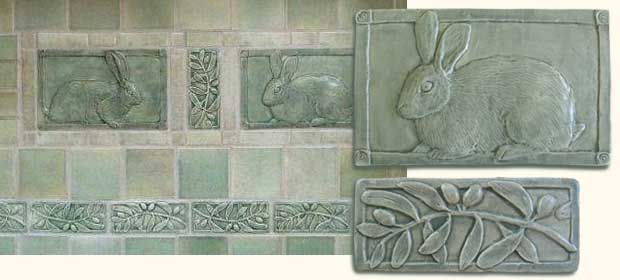 Handmade Decorative Tiles Extraordinary Countertops And Backsplashes  Margaret Licha Ceramic Tile Decorating Inspiration