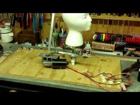 Wiper motor head turning prop 2013 - YouTube Halloween stuff in