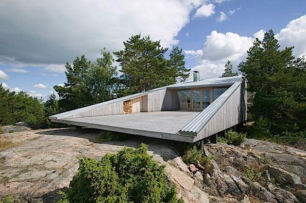Holzhaus Architektur architektur ein holzhaus in der finnischen natur finnisch