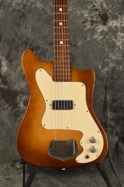 Vintage Kay Vanguard Single Pickup Sunburst