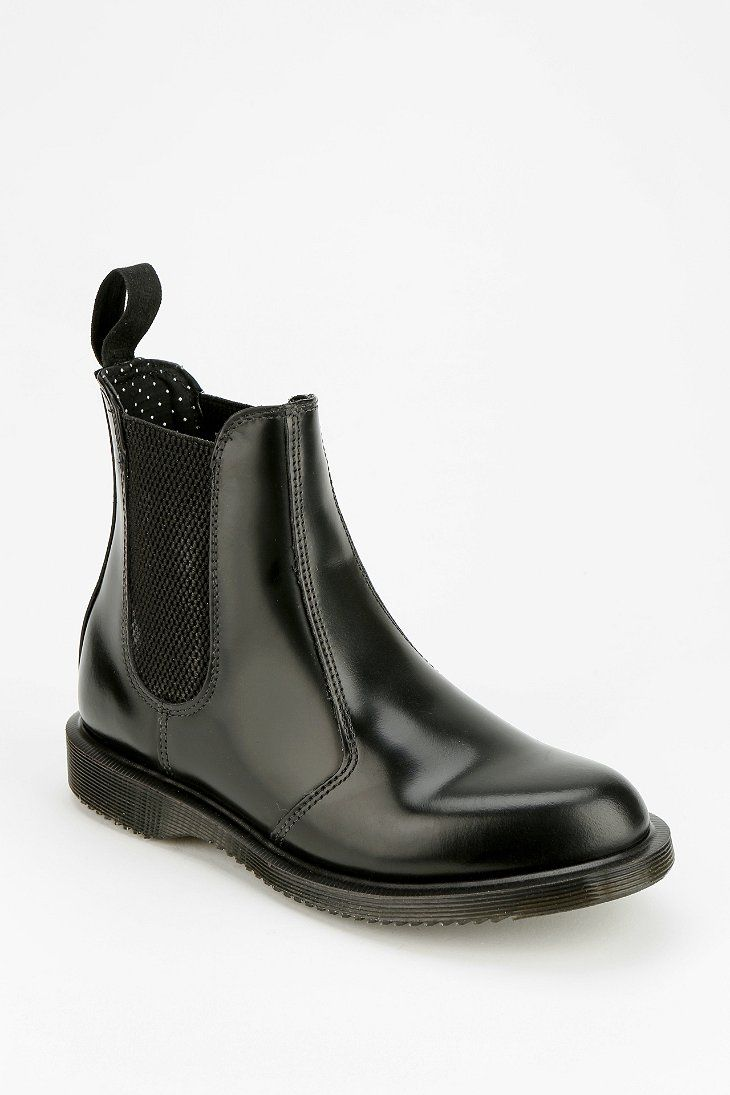 6aacd9a4531 Dr. Martens Flora Chelsea Ankle Boot urban outfitters online only  140.00  love these as they are slip ons and docs!