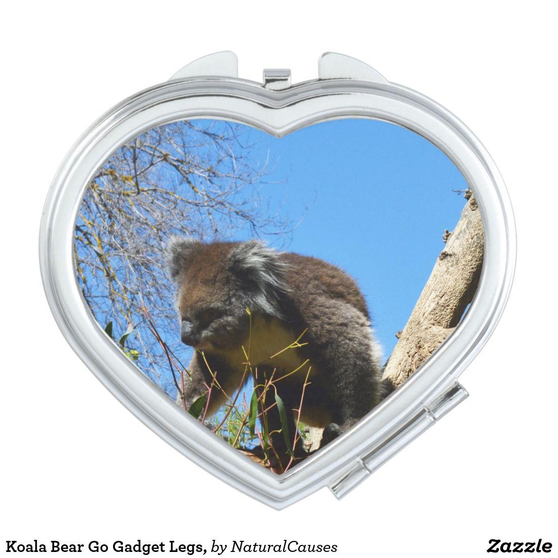 Koala Bear Go Gadget Legs, Makeup Mirror