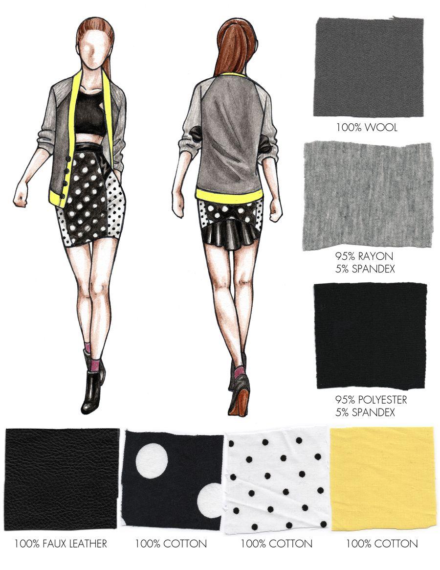 fashion design portfolio samples pdf