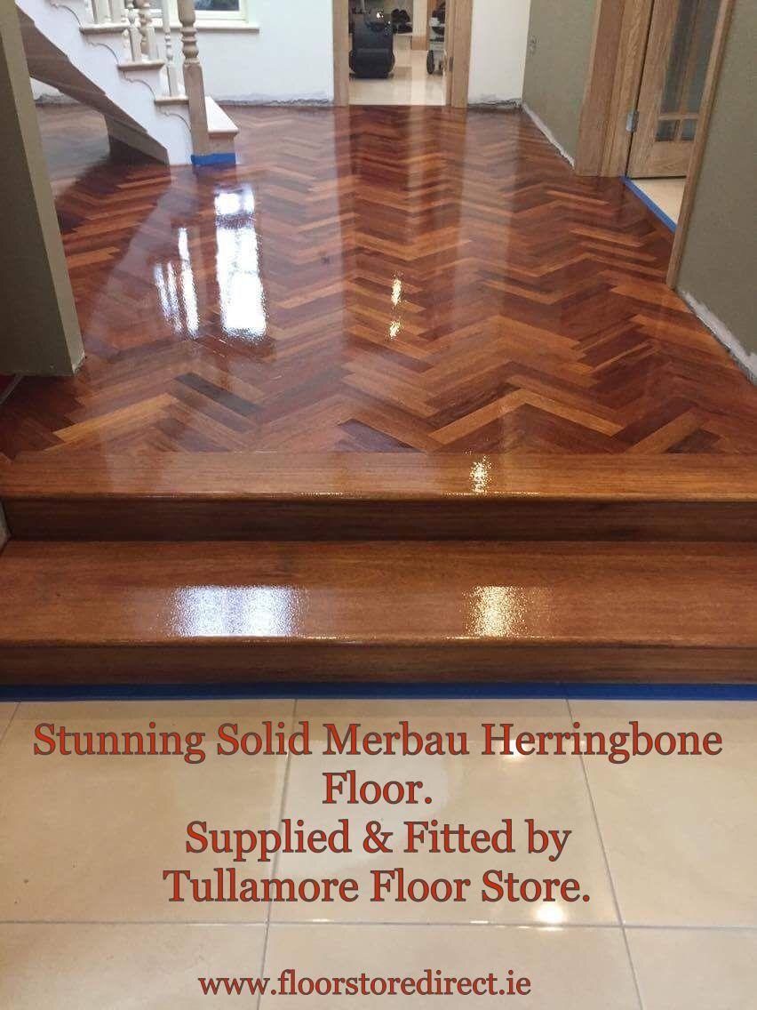 Go on Treat Yourself to Beautiful Herringbone Flooring