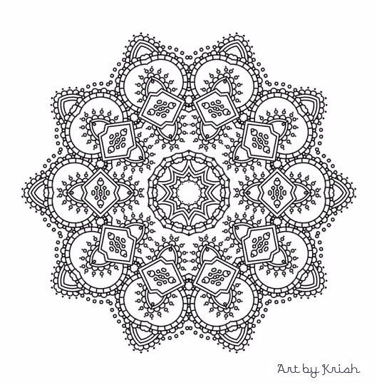 kids coloring pages intricate designs - photo#25