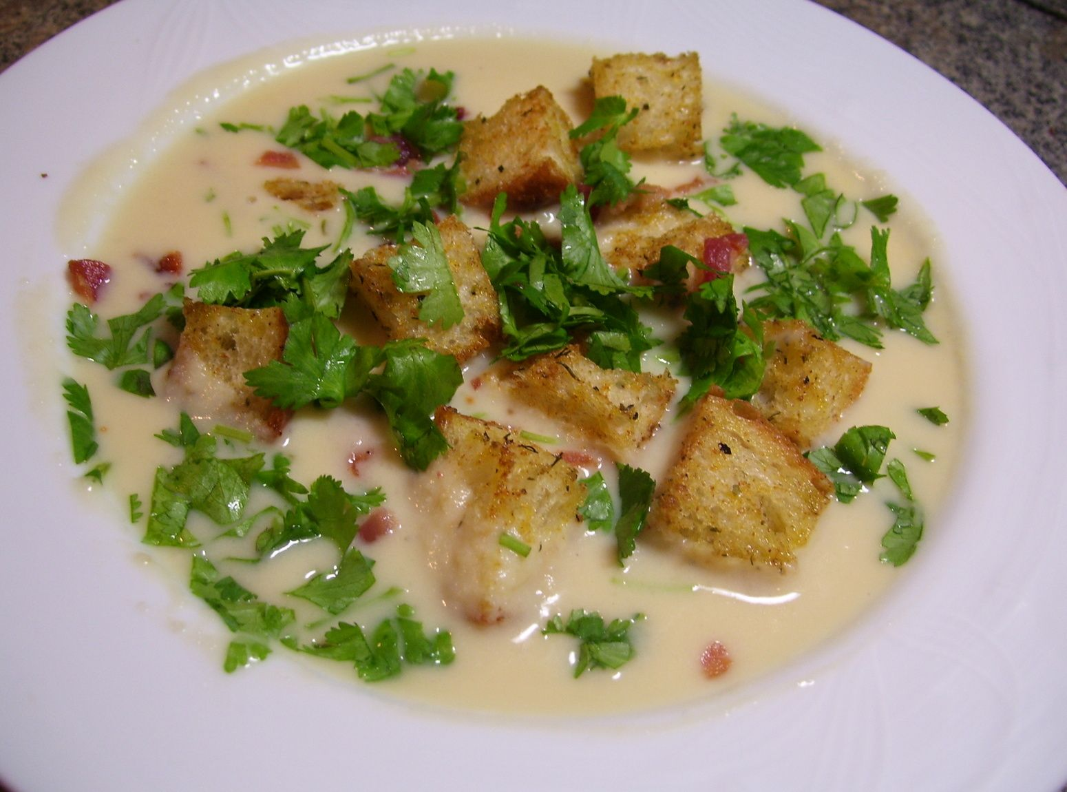 Cheesy Cream of Cauliflower Soup   Soups Stews Chili   Pinterest