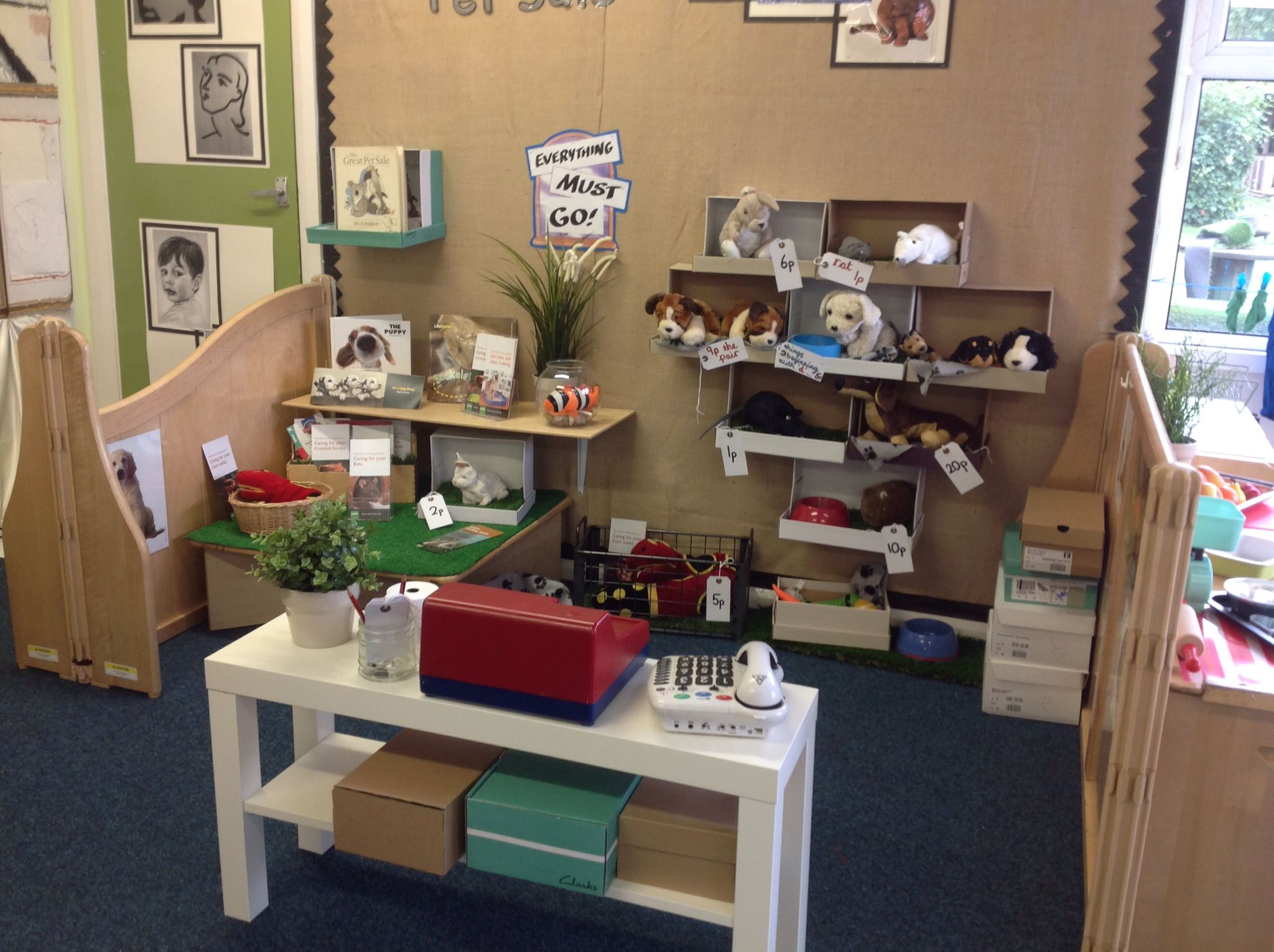 Pet Shop Role Play Dramatic Play Themes Play Corner Role Play Areas