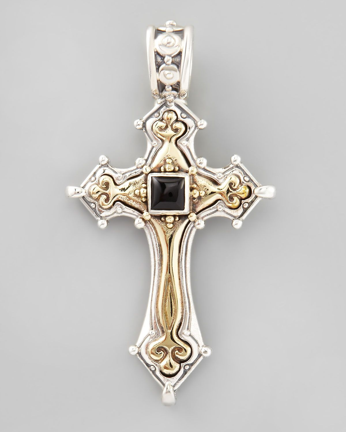and jeweled designer konstantino watches pendant cross jewelry large brands detail