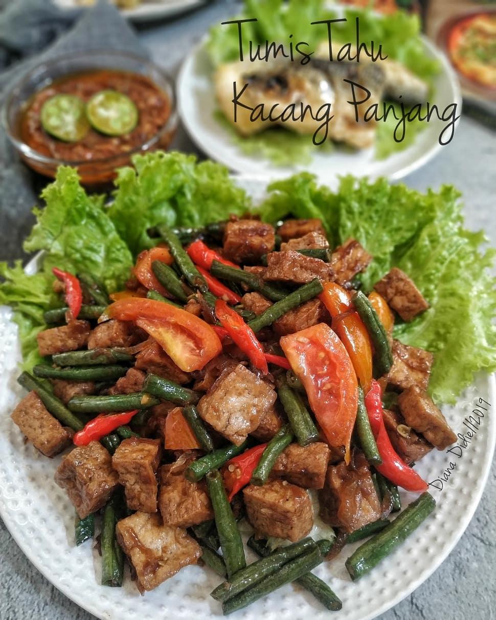 Recipe For Stir Fry Tofu Instagram Di 2020 Tumis Resep Nutrisi