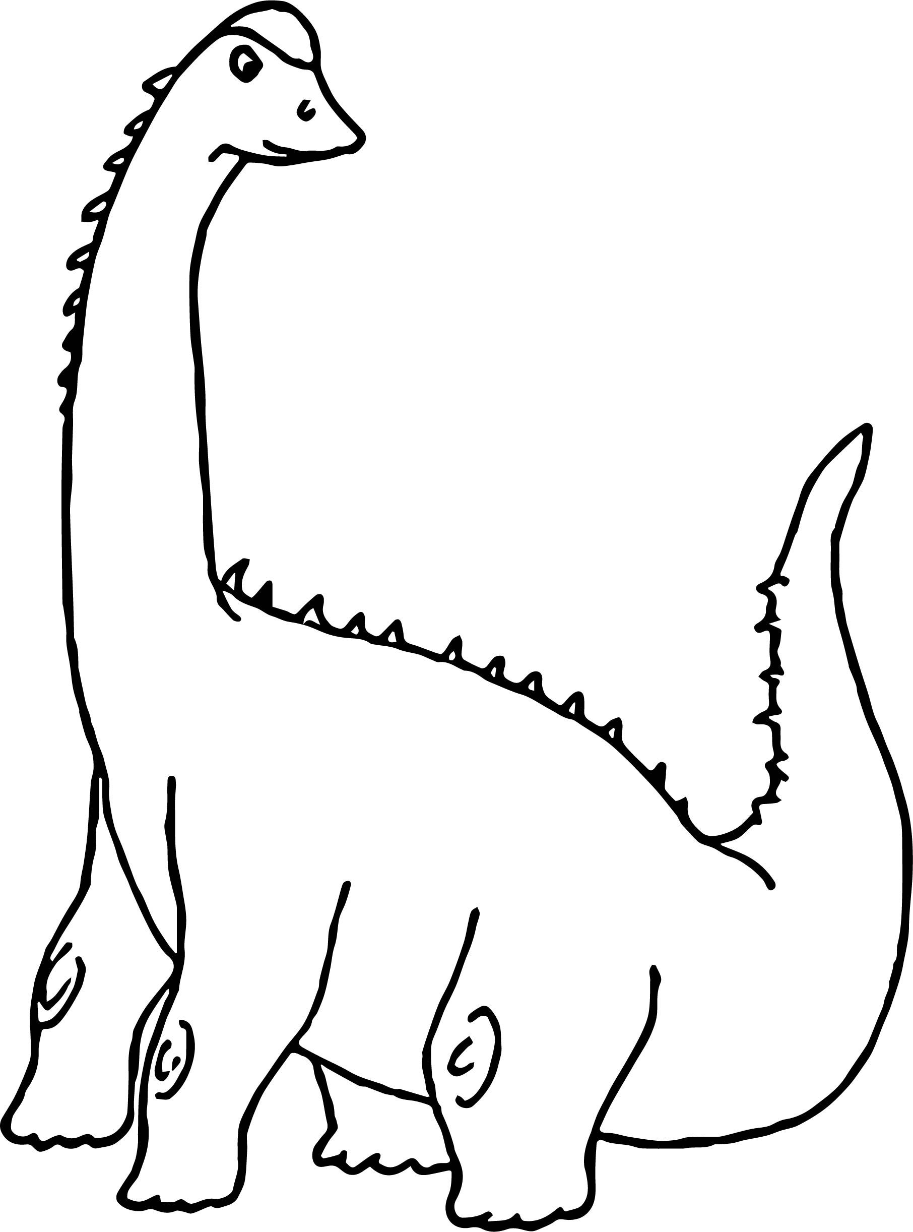 Nice Dinosaur Clipart Sauropod Coloring Page Frog Coloring Pages Coloring Pages For Kids Coloring Pages
