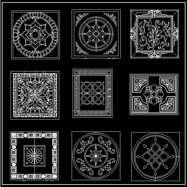 Luxury Paving Design Cad Design Download Cad Drawings