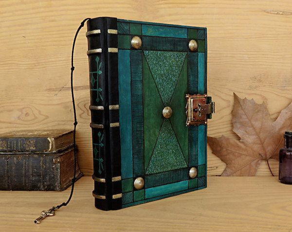 10 Gorgeously Unique Writing Journals That Will Inspire Your Creativity Leather Journal Handmade Leather Journal Journal With Lock