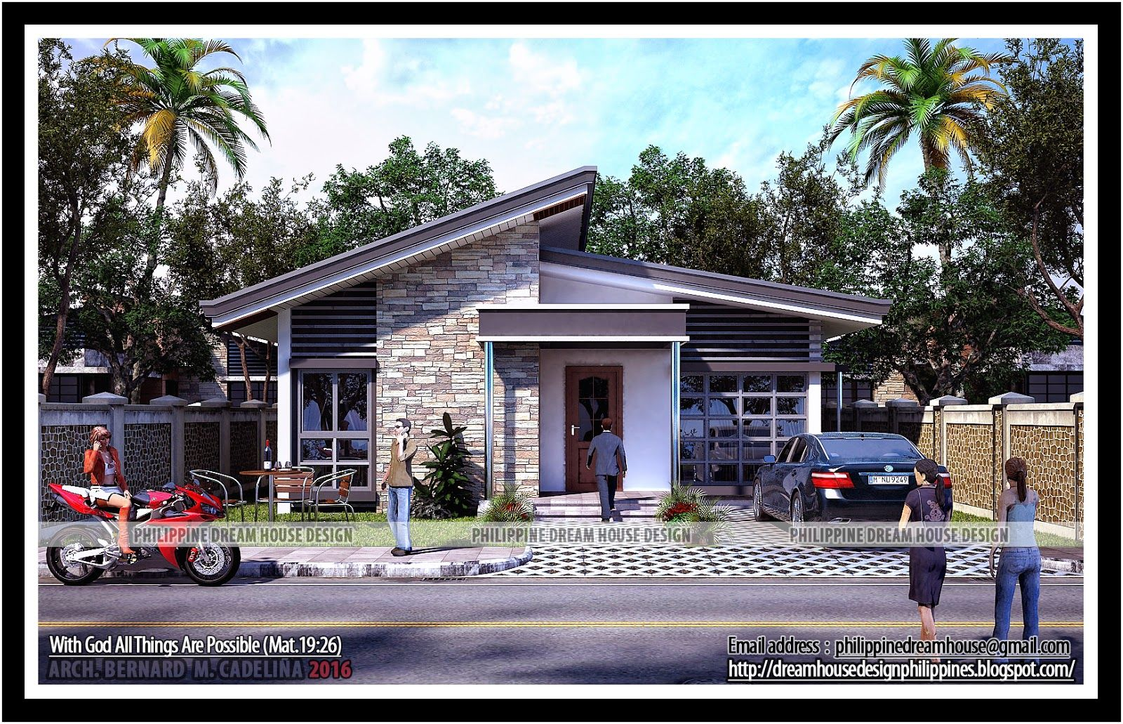 Philippine Dream House Design Two Bedroom Bungalow Designs Floor Plans