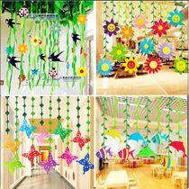 Preschool Spring Decorations Classroom Corridor Environment The Mall