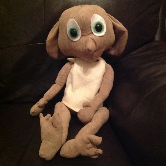 Dobby the House Elf softie sewing pattern | Harry Potter | Pinterest ...