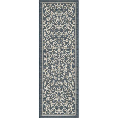 Safavieh Courtyard Dorothy Power-Loomed Indoor/Outdoor Area Rug or Runner, Beige