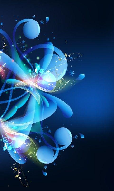 Fantacy Bubbles Google Search Blue Flower Wallpaper Blue Flowers Images Flower Wallpaper