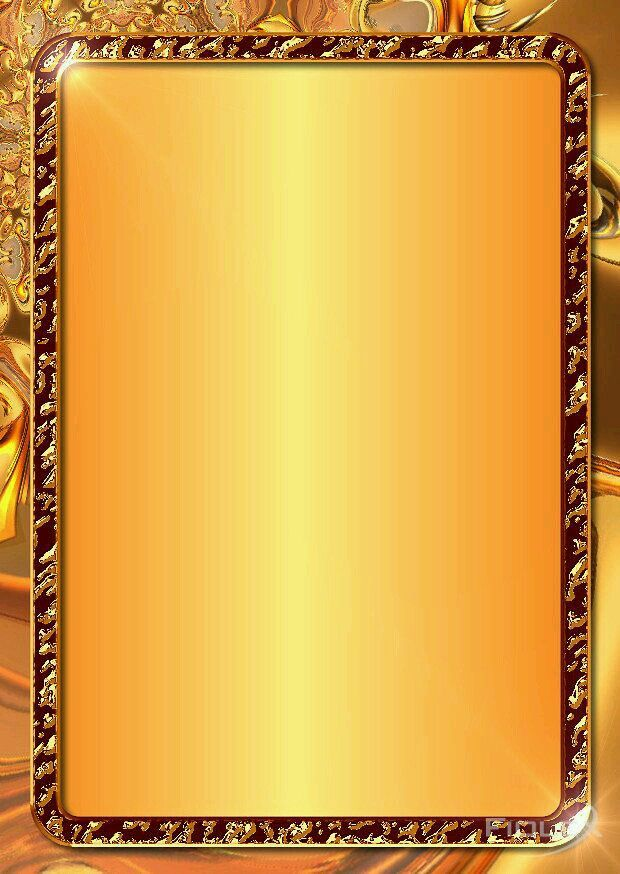 Gold Frames Wallpapers Backgrounds For Powerpoint