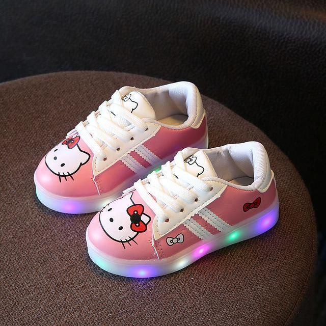 Sneakers Baby Girl Shoes Led Light Up Baby Shoes 1 6 Yrs Baby