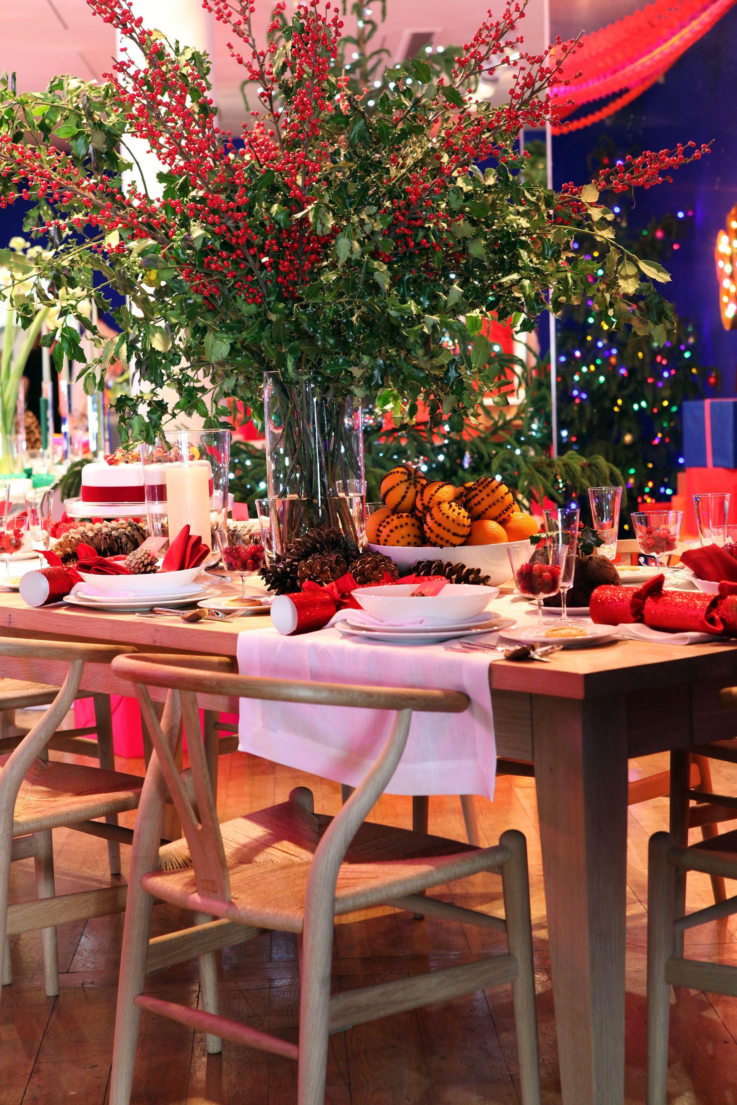 The Conran Shop Christmas Press Show Conran Shop Table Inspiration Christmas Flowers