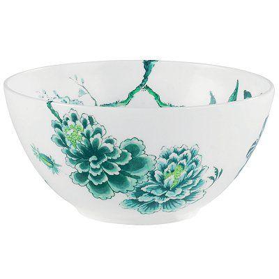Wedgwood Jasper Conran Chinoiserie White Salad Bowl, Dia.20cm