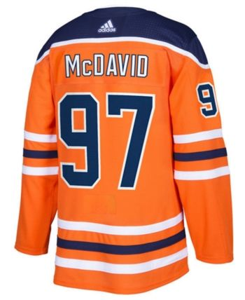 6f60de0e6 adidas Men s Connor McDavid Edmonton Oilers adizero Authentic Pro Player  Jersey - Orange 54