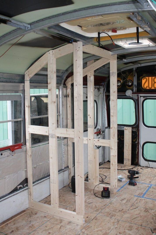 Framing Floor To Ceiling Or Nah School Bus Conversion
