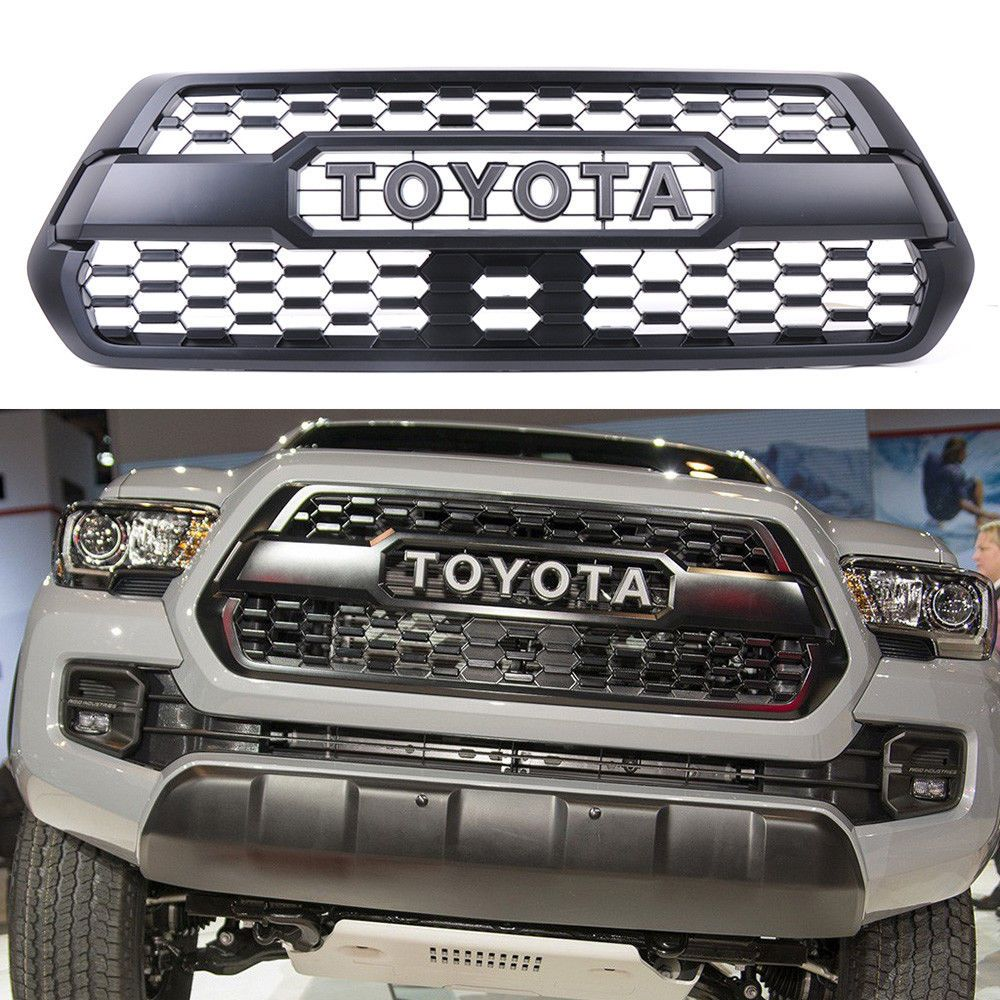 Nice Awesome 2016-2017 OEM Toyota Tacoma Front Bumper Hood Grill ...