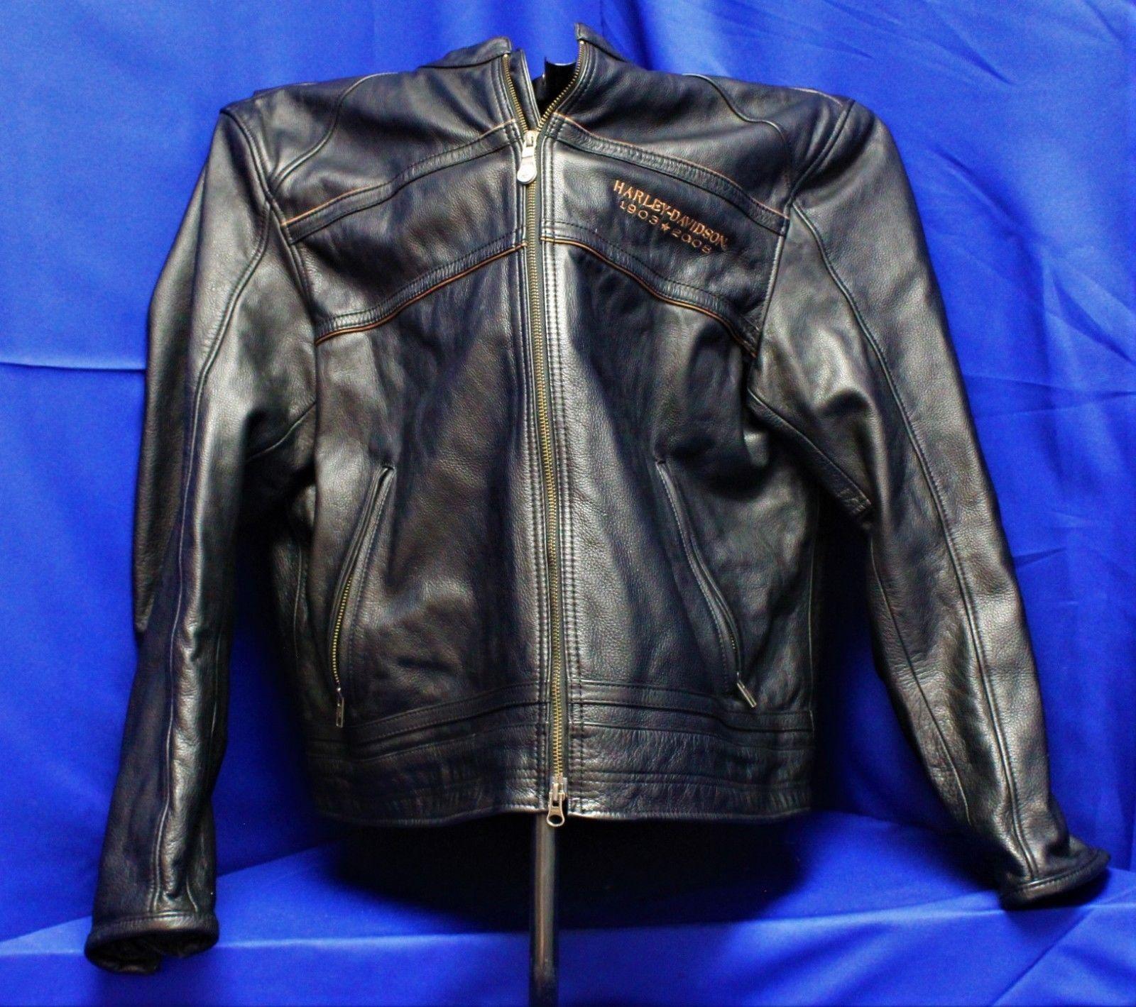 Harley Davidson 105th Anniversary Leather Jacket Men S Xxl Ebay Link Leather Jacket Men Leather Jacket Mens Jackets [ 1419 x 1600 Pixel ]