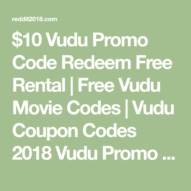 10 vudu promo code redeem free rental free vudu movie codes 10 vudu promo code redeem free rental free vudu movie codes vudu coupon codes fandeluxe Gallery