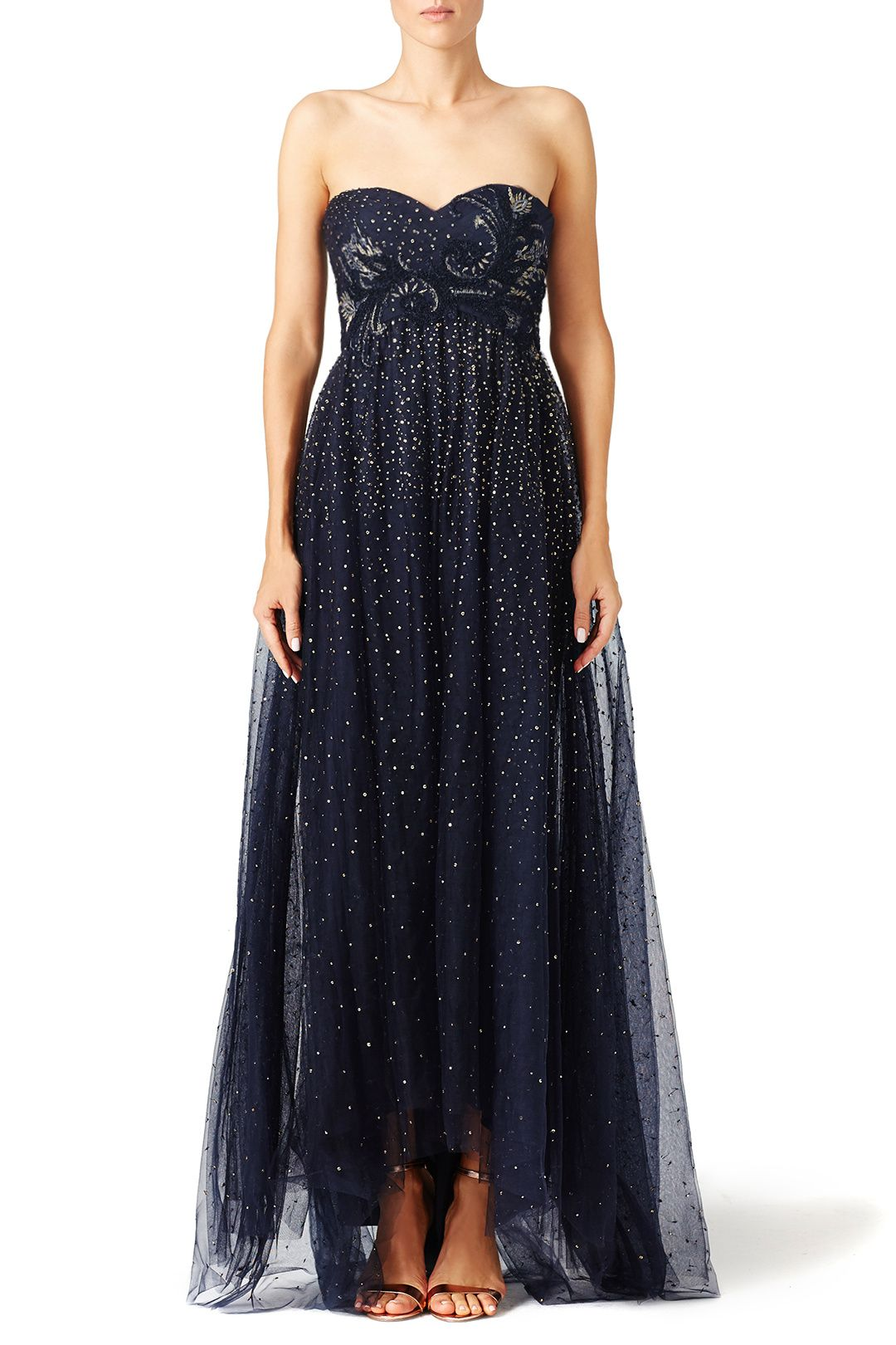 Rent Starry Night Gown By Marchesa Notte For 150 200 Only At