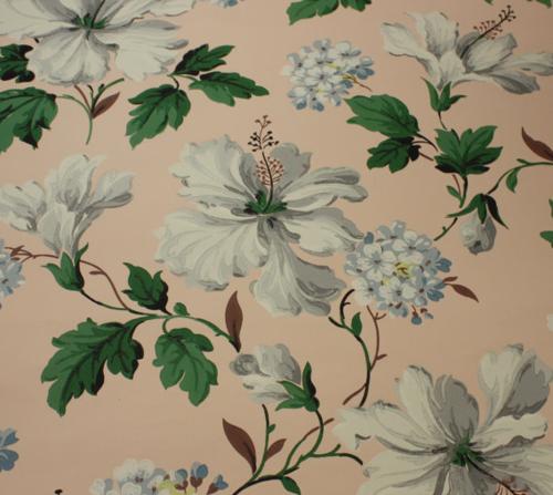 Vintage Wallpaper Floral