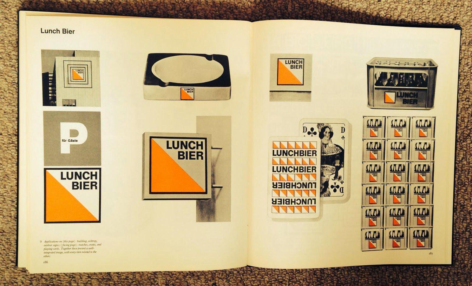 Design Lunch Bier By Anton Stankowski Bier Corporate Design Design