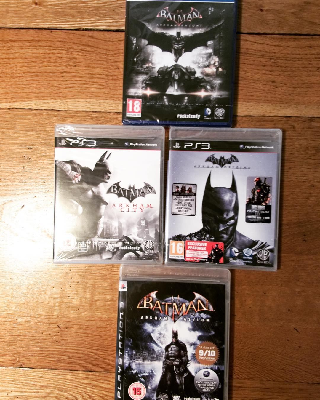 Having Completed Batman Arkham Asylum On Ps3 I Realised I Still