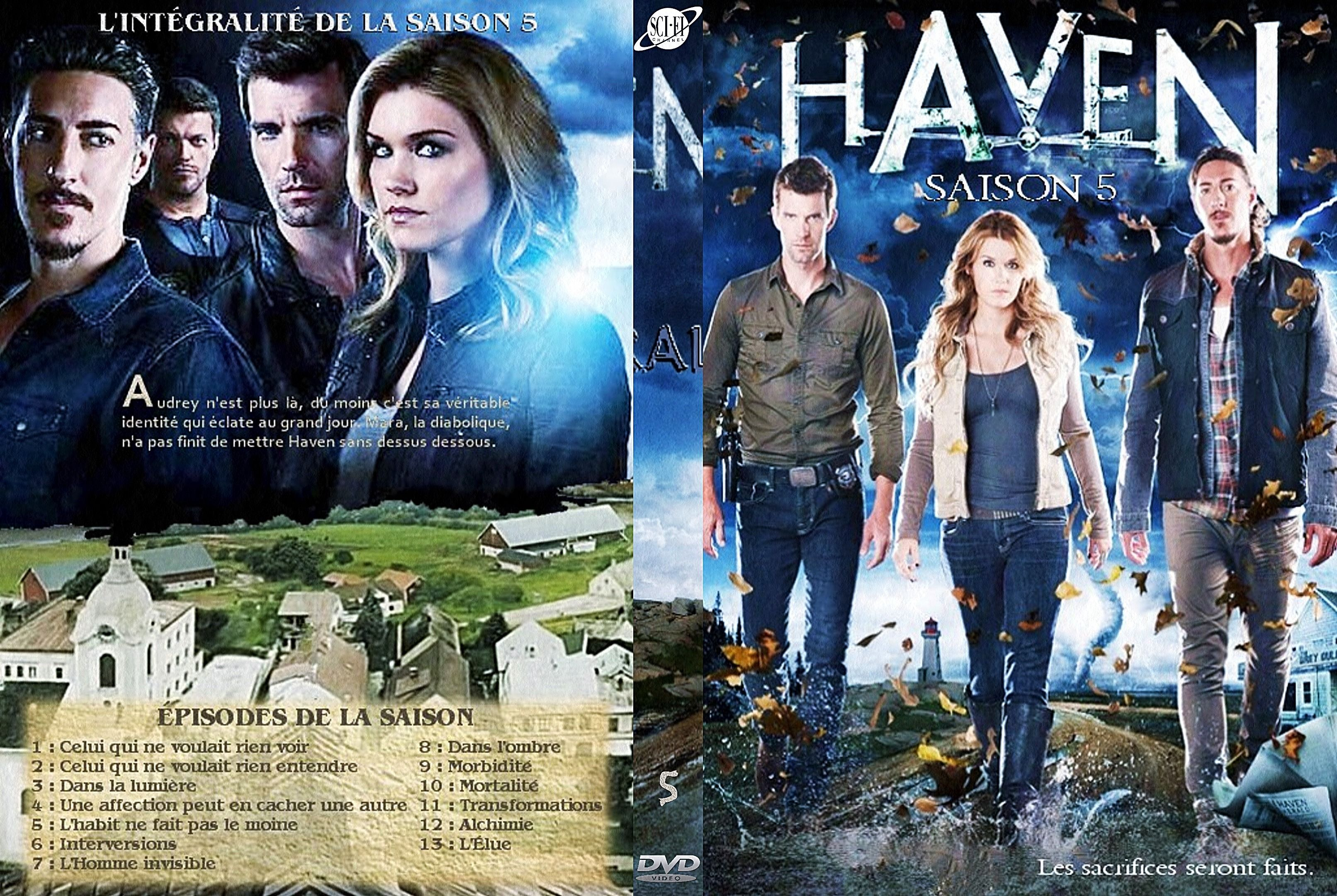Haven Saison 5 Jaquette Dvd Dvd Series Jaquette