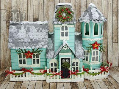 annette s creative journey victorian christmas house