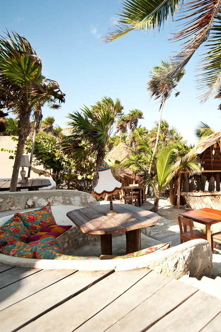 Papaya Playa Project Tulum Mexico At The Beach Club Guests And Locals