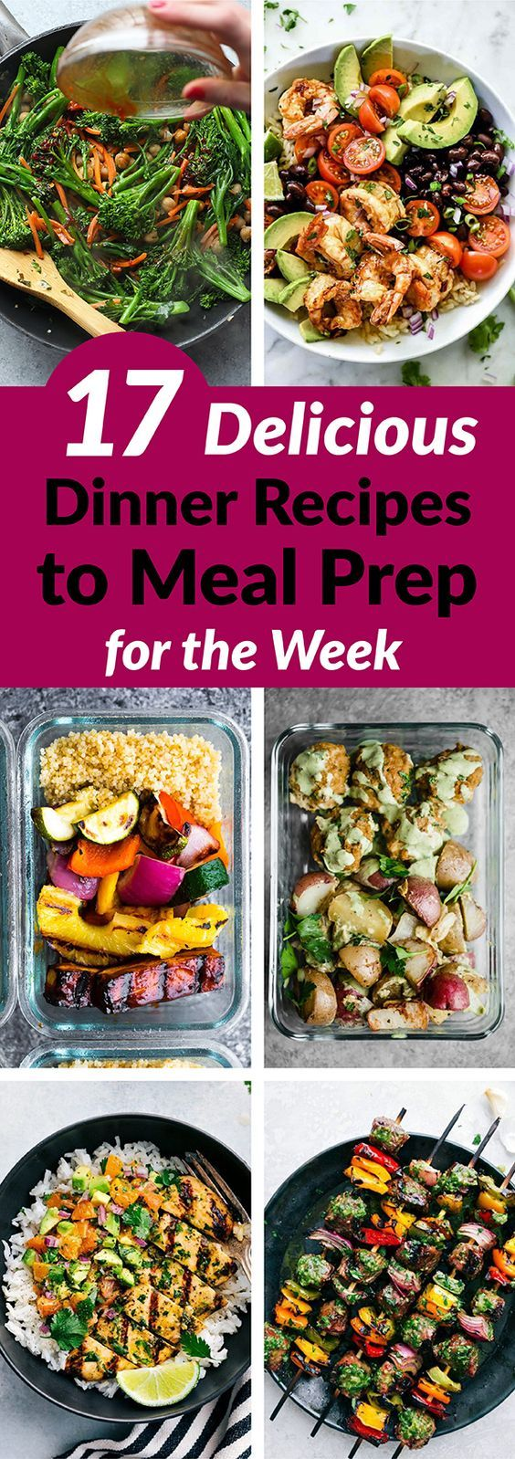 100+ Meal Prep Recipes for the week images