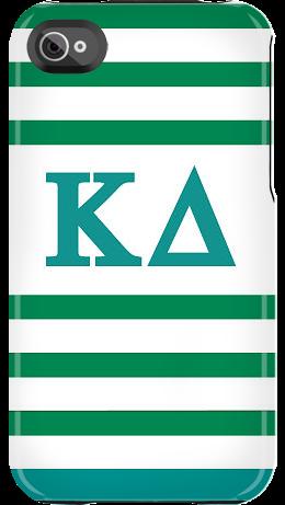 Kappa Delta Stripes case by Sorority Life