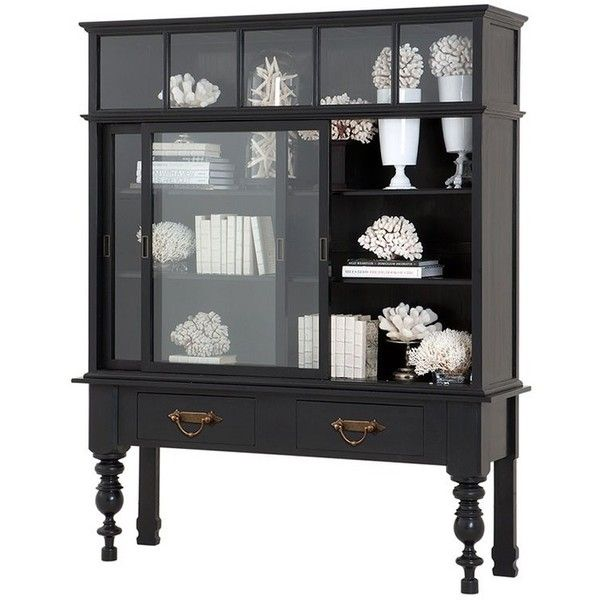 Eichholtz Furniture Eichholtz Barneyu0027s Cabinet ($5,890) ❤ Liked On Polyvore