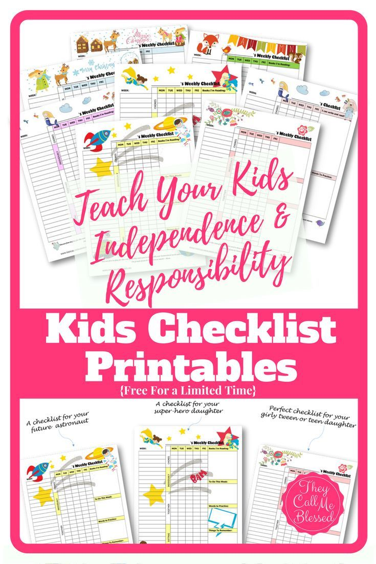 free printable routine checklist templates to help your kids learn independence and responsibility free chores homeschool checklist free homeschool