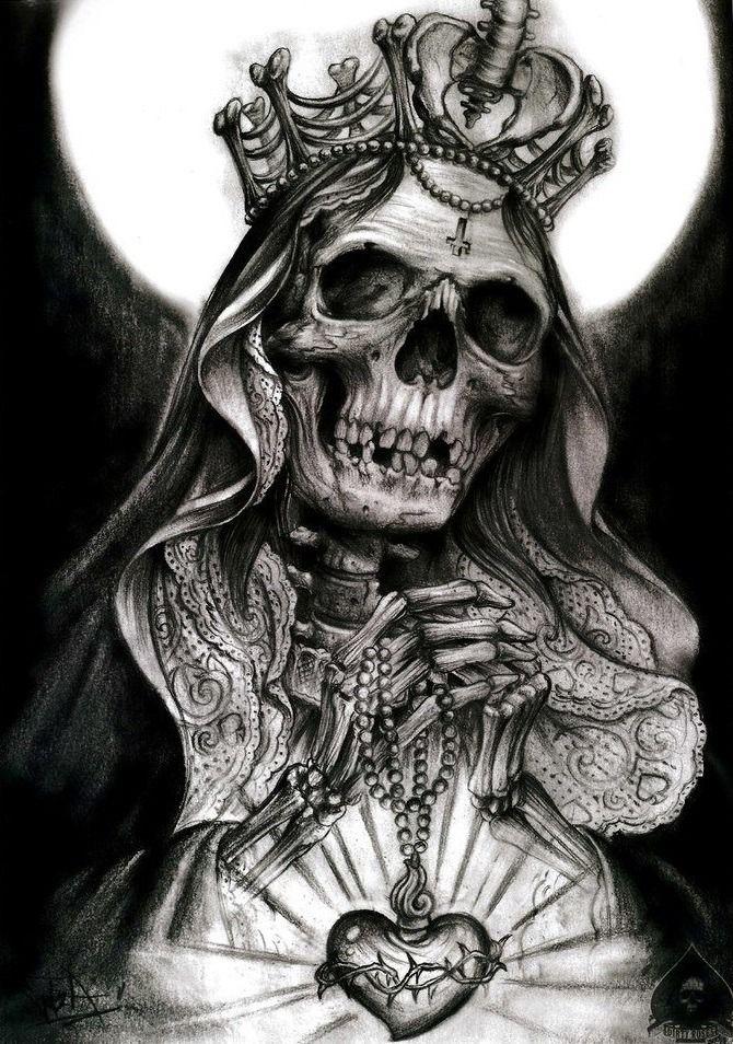 by Alex Gotza Skull art, Skull tattoos, Tattoos